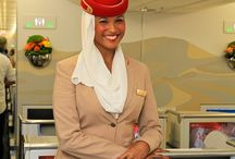 Cabin Crew and Flight Attendants / The cabin crew and flight attendants of today's airlines
