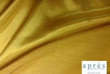 Yellow Linen / This is a collection of linen we have available for rent at Apres Party and Tent Rental. Sizes and quantities may vary. apresparty.com