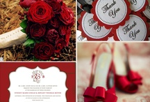 Winter Crimson Wedding Flowers  / In the ice the Crimson Flower speaks and adds that Winter warmth to any wedding. Here is a few we love.