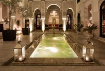 Luxury Hotels in Morocco / A selection of the finest and most luxurious boutique hotels in Morocco http://www.mediteranique.com/hotels-morocco/