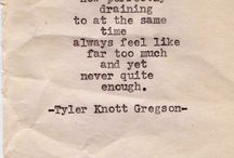 Words From the Typewriter