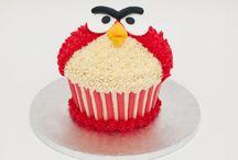 Angry Bird Themed Food