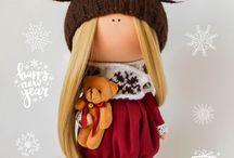 bábiky zimné