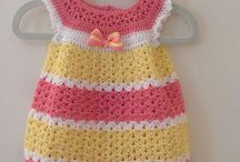 ropa bebé Crochet