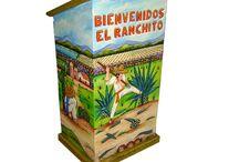 Magia y Mueble: Porta Menú / Una gran variedad de colores reflejar la belleza con un toque mágico a través de formas, colores y texturas que hacen sentir la esencia de México. Nuestros productos representan la pasión y dedicación que empeñamos a nuestro trabajo.