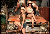 cowgirls.