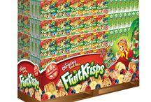 Fruit Krisps / Fruit Krisps. Designed by Pigeon Brand Design.