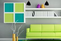Decora tus espacios con el verde / El verde es un tono vivaz que es influenciado por la naturaleza.