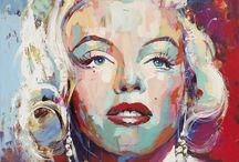 Marilyn!!! Zeichnen