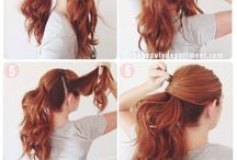 Easy hairstyle ideas.