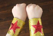Malachy's 4th birthday party: superheroes!