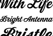 Rad Web Fonts