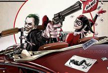 Inspiration : Marvel / DC Comic / Des illustrations Made In US