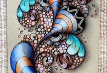 simmetric or abstract decor