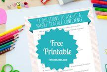 Conferences parent teacher