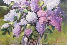 Kwiaty w malarstwie / Kwiaty w malarstwie  / by Zofia Kowalczuk