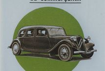 Citroen Traction - Adds, Docs and Vintage pictures