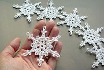 Szydełkowy zakątek - gwiazdki, snow flakes