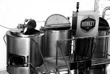 Fabrica Monkey beer / Cuidando todos los detalles para elaborar una cerveza artesana 100% natural en un proceso que conserva todo la esencia de la malta y el lúpulo.