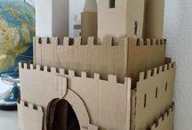 hrad z papíru