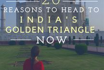 India / India travel inspiration - the golden triangle