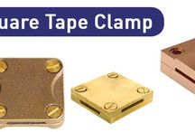 Brass SQUARE TAPE CLAMP