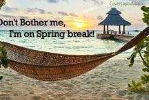 Spring Break / spring break facebook cover
