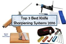 Top Rated Knife sharpening System / Searching for the best and popular knife sharpening system reviews? In this board, you'll find all kinds of knife sharpening systems. I try to pin the latest and popular Sharpens best knife sharpeners which are the best for your knives. This knife sharpening kits are fully well and good for your knife. So, stay tuned.  For more you can visit: http://sharpeningmaster.com/best-knife-sharpening-systems/