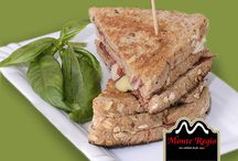 Sándwich Monte Regio / Los mejores sándwiches llevan jamón y si es ibérico #MonteRegio ¡no existe mayor placer para el paladar!