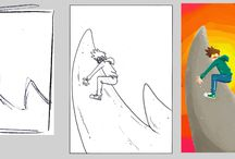 drawings / #original #drawing , #sketches and contents