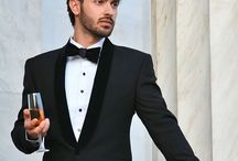 PIETER PETROS || KLEARCHOS I / A Super Black tuxedo ready to be flaunted during a redcarpet event.
