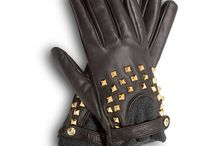 Gloves, mitts, leather / Stuff to put on my hands