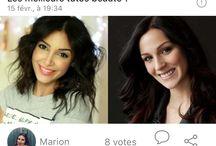 CHOOZ Beauté / Maquillage ? Coupes de cheveux ? Tutos ?  A vos téléphones ... VOTEZ !!!