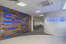 Tilney Best Invest / Already residing in the prestigious Grade I listed Royal Liver building, Tilney Best Invest (TBI) wanted to relocate within the same building but across one whole floor to align with future expansion plans.  Meeting rooms feature foldable walls offering flexible room configurations for training, board meetings and corporate events. Selected heritage furniture feature in meeting rooms, which, teamed with views overlooking the Mersey River provide the office with heritage and iconic status.