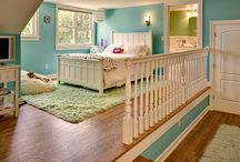 Dream Home - Kids Rooms / by Andrea Hartinger