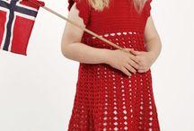crochet and knitting -  for girls