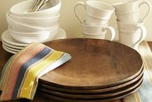 Wooden Cutlery Table Setting
