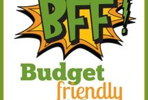 My BFF - Budget Friendly Friday Series / Chelle has created a new budget that fits her personality and overall level of laziness. It's not about perfection. Read about 4 budget strategies that have failed and how she has used them to devise a simple spending plan that just might work for her. We'll see. She will be writing about it every Friday for 8 weeks. Follow along and share some of your own budget advice. Be gentle.