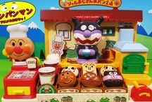 アンパンマンおもちゃアニメ❤ジャムおじさんのかまどで焼きたてパン屋さん! Anpanman toys