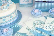 Drenge barnedåb / Alt til din drenge barnedåb og babyshower. Stort udvalg af bordpynt, pynt, barnedåbspynt, engangsservice og festartikler til din barnedåb og baby shower.