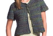 little crochet sweater