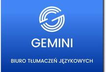 Gemini BTJ / Różne rzeczy dotyczące Biura Tłumaczeń Językowych bezpośrednio, pośrednio i dosyć odlegle
