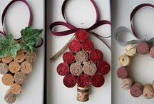 DIY Wine Cork Ornaments Ideas