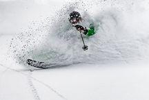 Eat, Sleep, Rip Pow / Skiing