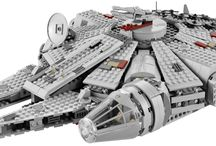 Lego Star Wars / All the unique designs and creations made with LEGO !!  Space Ships, Vehicles, Crafts, Transport, Stormtrooper, Jedi, Star, Planets, Lightsabers, Rebels, Vader, X-Wing, Millenium Falcon, Tie Fighter, Star Destroyer, B-Wing Starfighter, Bounty Hunter.