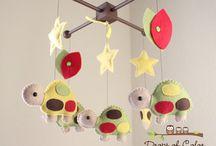 Turtle Nursery Theme / Ideas for an turtle nursery theme.