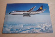 Airline postcards