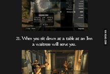 Skyrim and other game tips