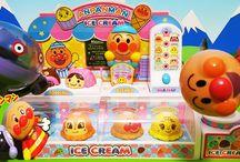 アンパンマンのアイスクリーム屋さん❤アニメ&おもちゃ