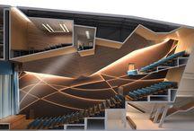 Italteatri / Images of curtains , Theatres , theater decorations . Immagini di sipari, teatri, arredamenti per teatro.